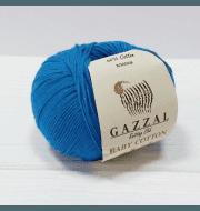Пряжа GAZZAL Baby Cotton Gazzal Цвет.3428 Бирюза
