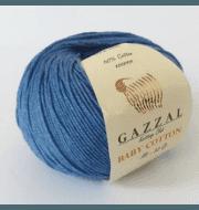 Пряжа GAZZAL Baby Cotton Gazzal Цвет.3431 Джинс