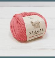Пряжа GAZZAL Baby Cotton Gazzal Цвет.3435 Коралл