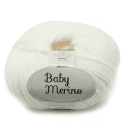 Пряжа DROPS Baby Merino Цвет.01 Белый