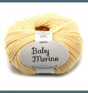 Пряжа DROPS Baby Merino Цвет.04 Светло желтый