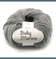 Пряжа DROPS Baby Merino Цвет.19 Серый