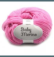 Пряжа DROPS Baby Merino Цвет.07 Розовый