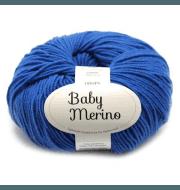 Пряжа DROPS Baby Merino Цвет.33 Синий