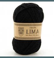 Пряжа DROPS Lima Цвет.8903 Чёрный