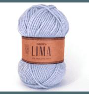 Пряжа DROPS Lima Цвет.8112 Голубая норка