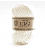 Пряжа DROPS Lima Цвет.0100 Молочный