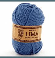 Пряжа DROPS Lima Цвет.6235 Светлый джинс