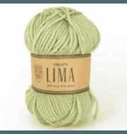 Пряжа DROPS Lima Цвет.7219 Светлая фисташка