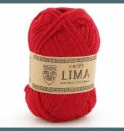 Пряжа DROPS Lima Цвет.3609 Красный