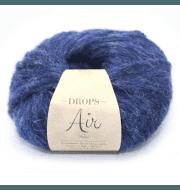Пряжа DROPS Air Цвет. 09 Темно синий меланж