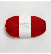 Пряжа SANDNES GARN Fritidsgarn Цвет.4219 Красный