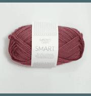 Пряжа SANDNES GARN Smart Цвет.4244 Брусника