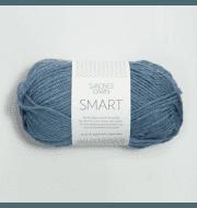 Пряжа SANDNES GARN Smart Цвет.6324 голубой