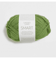 Пряжа SANDNES GARN Smart Цвет.8215 св.салат