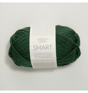 Пряжа SANDNES GARN Smart Цвет.8264 зеленая сосна