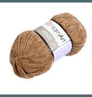 Пряжа YarnArt Dolce Цвет. 765 Св. коричневый