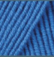 Пряжа YarnArt Merino De Luxe Цвет.3040 Ярко голубой