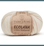 Пряжа Valeria di Roma Ecolana Цвет.003 Молочный