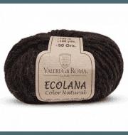 Пряжа Valeria di Roma Ecolana Цвет.004 Черный