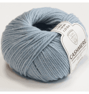 Пряжа Valeria di Roma Cashmere Цвет.178 Голубой