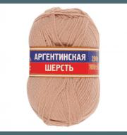 Пряжа Камтекс Аргентинская шерсть 100 г Цвет.193 Кремовый