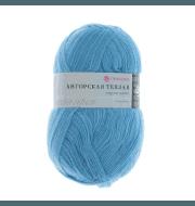 Пряжа Пехорка Ангорская теплая Цвет.05 Голубой