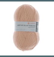 Пряжа Пехорка Ангорская теплая Цвет.442 Натуральный