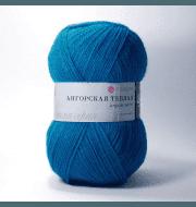 Пряжа Пехорка Ангорская теплая Цвет.583 Бирюза