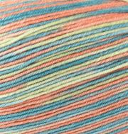 Пряжа Color City Kangaroo wool Цвет.1 Бирюзовый - розовый - голубой