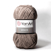 Пряжа YarnArt Dolce Цвет. 754 Бежево - коричневый