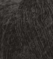 Пряжа Seam Alpaca de Italia Цвет.5489 графитовый с сединой