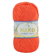 Пряжа Nako Bambino Marvel Цвет.9039 св. корал