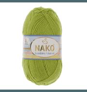 Пряжа Nako Bambino Marvel Цвет.9043 Салат