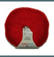 Пряжа BBB Filati Martine Цвет. 0532 Красный
