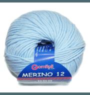 Пряжа BBB Filati Merino 12 Цвет.86277 Нежно-голубой