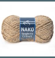 Пряжа Nako Spaghetti Effect Цвет.7792 беж.меланж