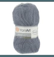Пряжа YarnArt Mohair Classic Цвет.114 Темно серый