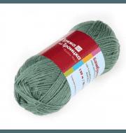 Пряжа Троицкая Бамбуковая Цвет.3663 Светло-зеленый