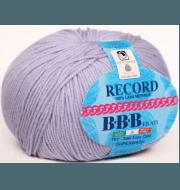 Пряжа BBB Filati Record Цвет.8268 св.сирень