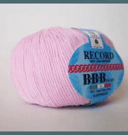 Пряжа BBB Filati Record Цвет.86276 Розовый