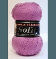 Пряжа Color City Sofit Цвет.925 Розовый