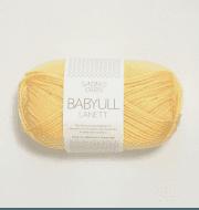 Пряжа SANDNES GARN Babyull Lanett Цвет.2112 Lys Gul/св.желтый
