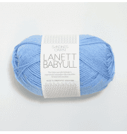 Пряжа SANDNES GARN Babyull Lanett Цвет.5904 Mellom bla/голубой