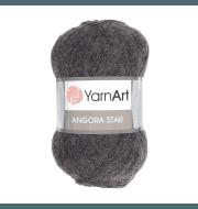 Пряжа YarnArt Angora Star Цвет.359 Темно-серый