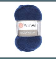 Пряжа YarnArt Angora Star Цвет.583 Темно синий