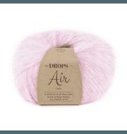 Пряжа DROPS Air Цвет. 08 Светло - розовый