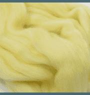 Пряжа Пехорка Шерсть для валяния тонкая Цвет.53 Св. желтый