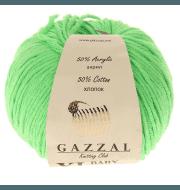 Пряжа GAZZAL Baby Cotton XL Цвет.3427XL Зеленый