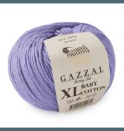 Пряжа GAZZAL Baby Cotton XL Цвет.3420XL Лаванда
